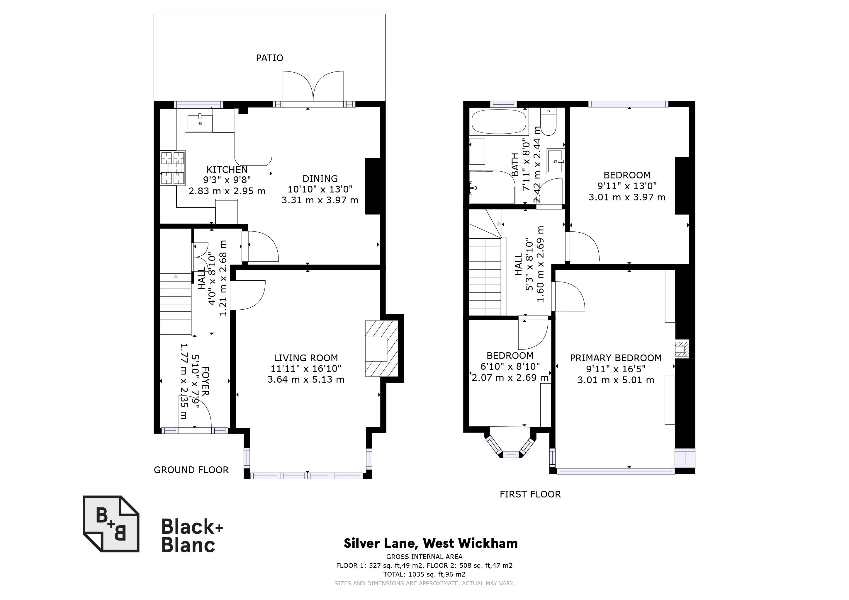 3 bed house for sale in Silver Lane - Property Floorplan