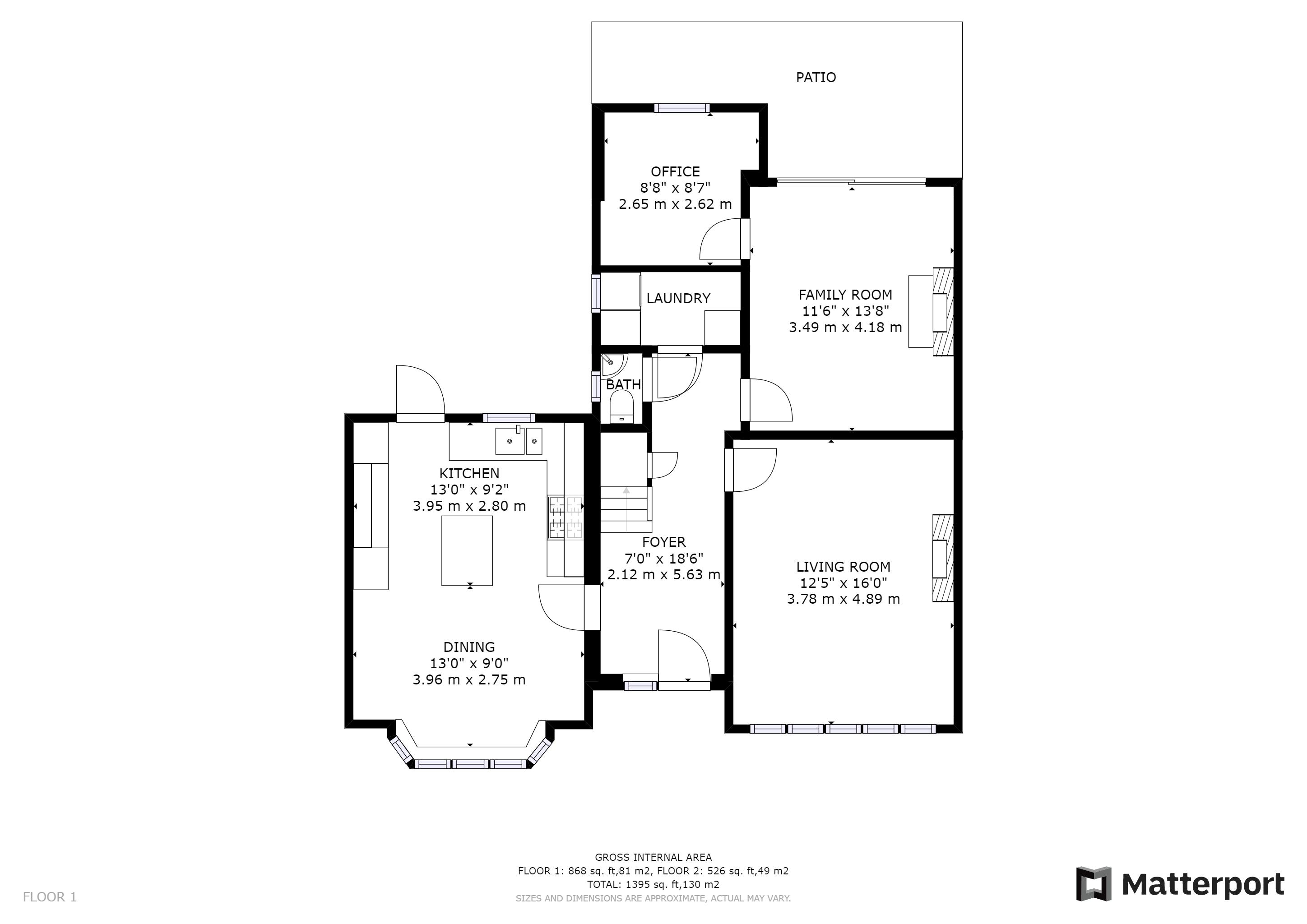 3 bed house for sale in Ash Grove - Property Floorplan