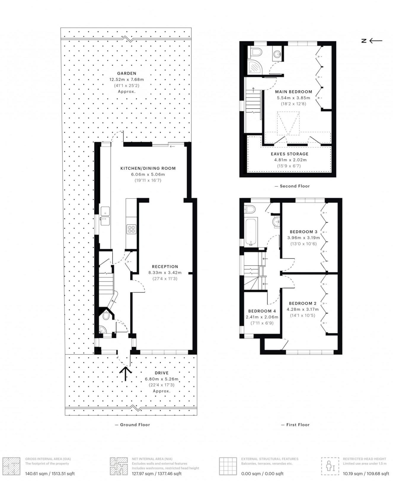 4 bed house for sale in Kent Road - Property Floorplan