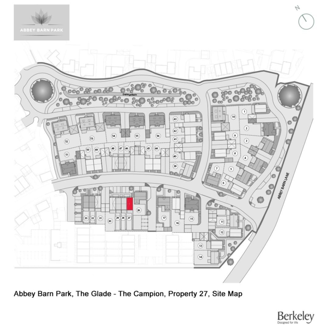 4 bed house for sale in The Campion, Abbey Barn Park - Property Floorplan