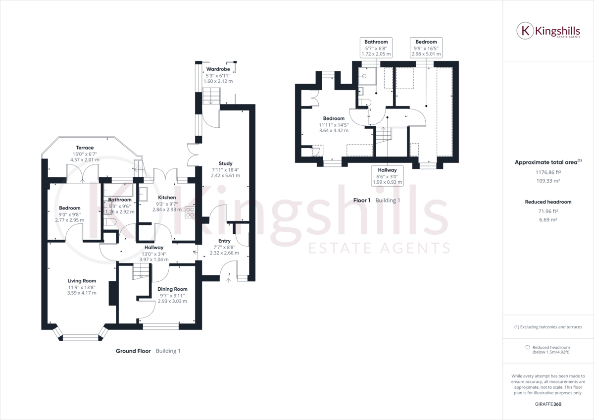 4 bed house to rent - Property Floorplan