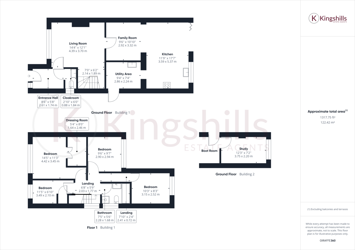 4 bed house for sale in Cedar Avenue, Hazlemere - Property Floorplan