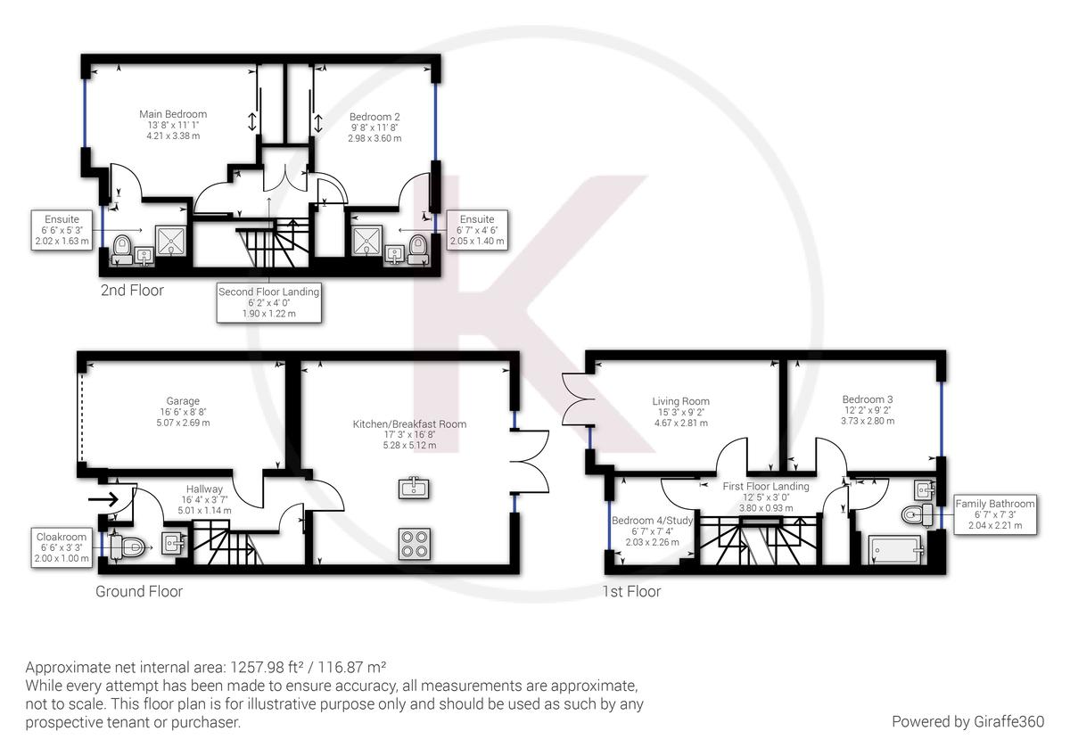 4 bed house for sale in Wyestream, Bassetsbury Lane - Property Floorplan