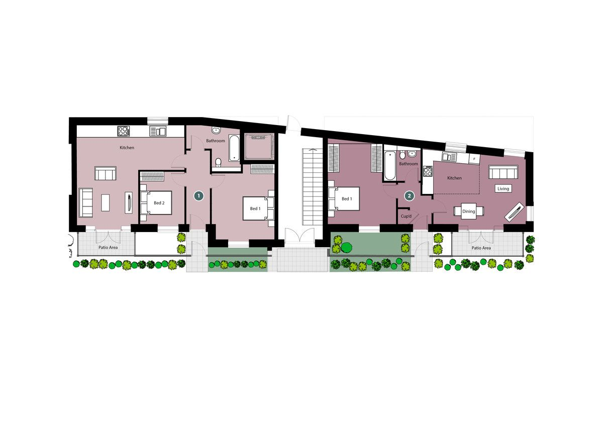 1 bed flat for sale in Pavilion Court, High Wycombe - Property Floorplan