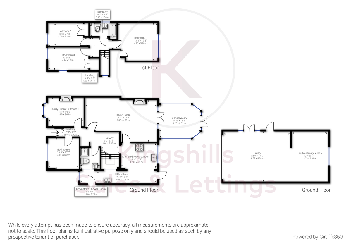 5 bed house for sale in Rushmoor Avenue, Hazlemere - Property Floorplan