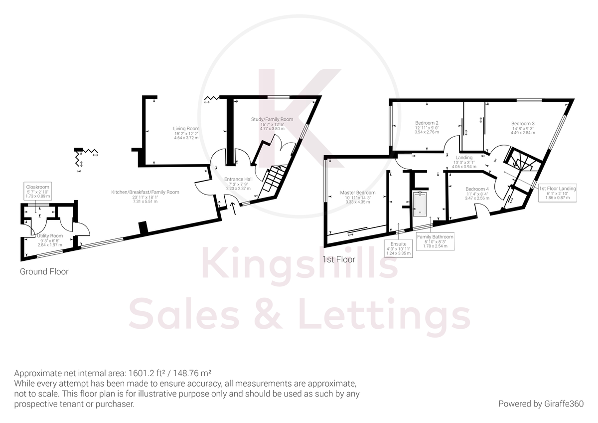 4 bed house for sale in Old Kiln Road, Flackwell Heath - Property Floorplan