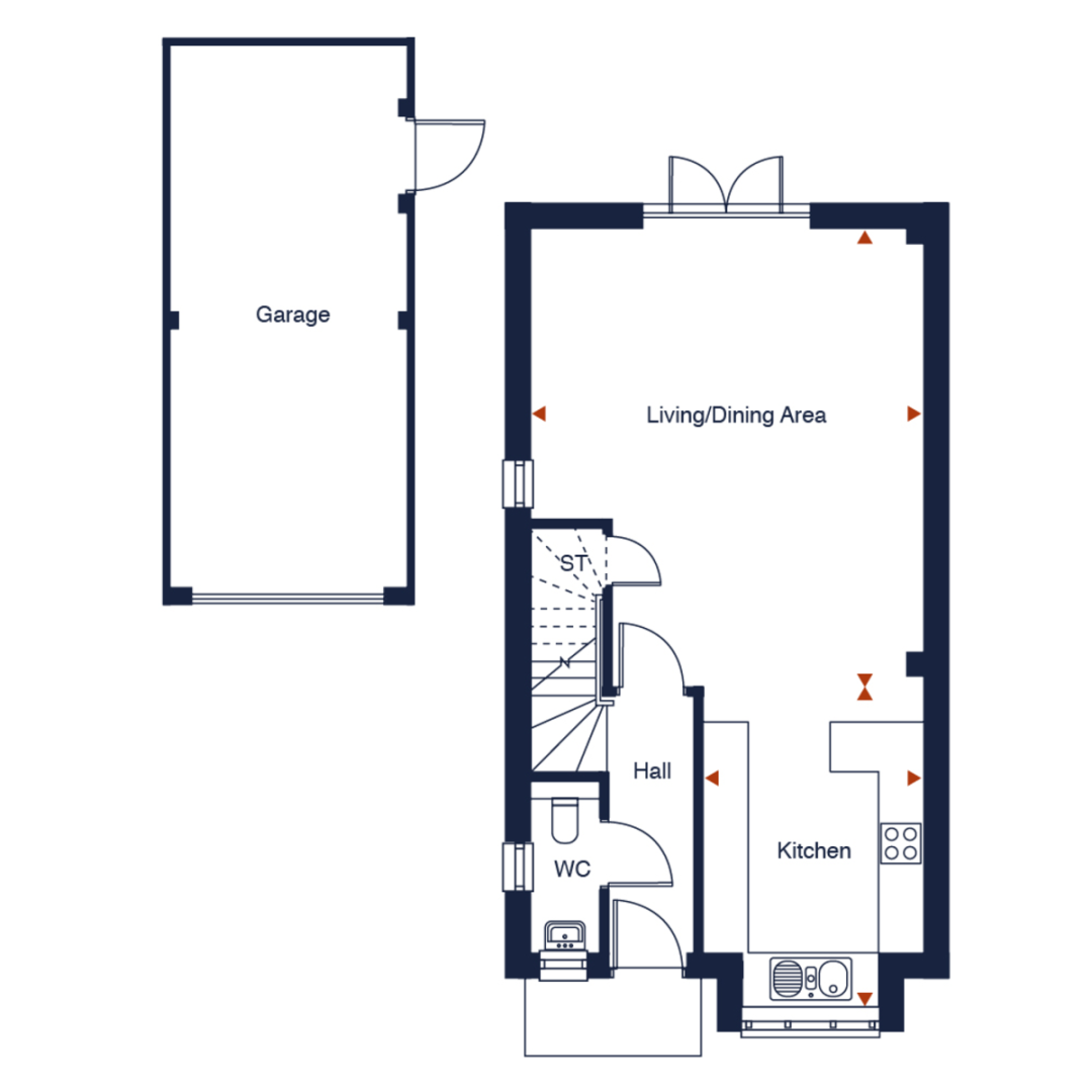 4 bed house for sale in Kite Meadows, Princes Risborough - Property Floorplan