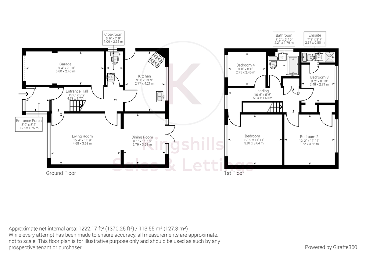 4 bed house for sale in Pheasants Drive, Hazlemere, High Wycombe - Property Floorplan