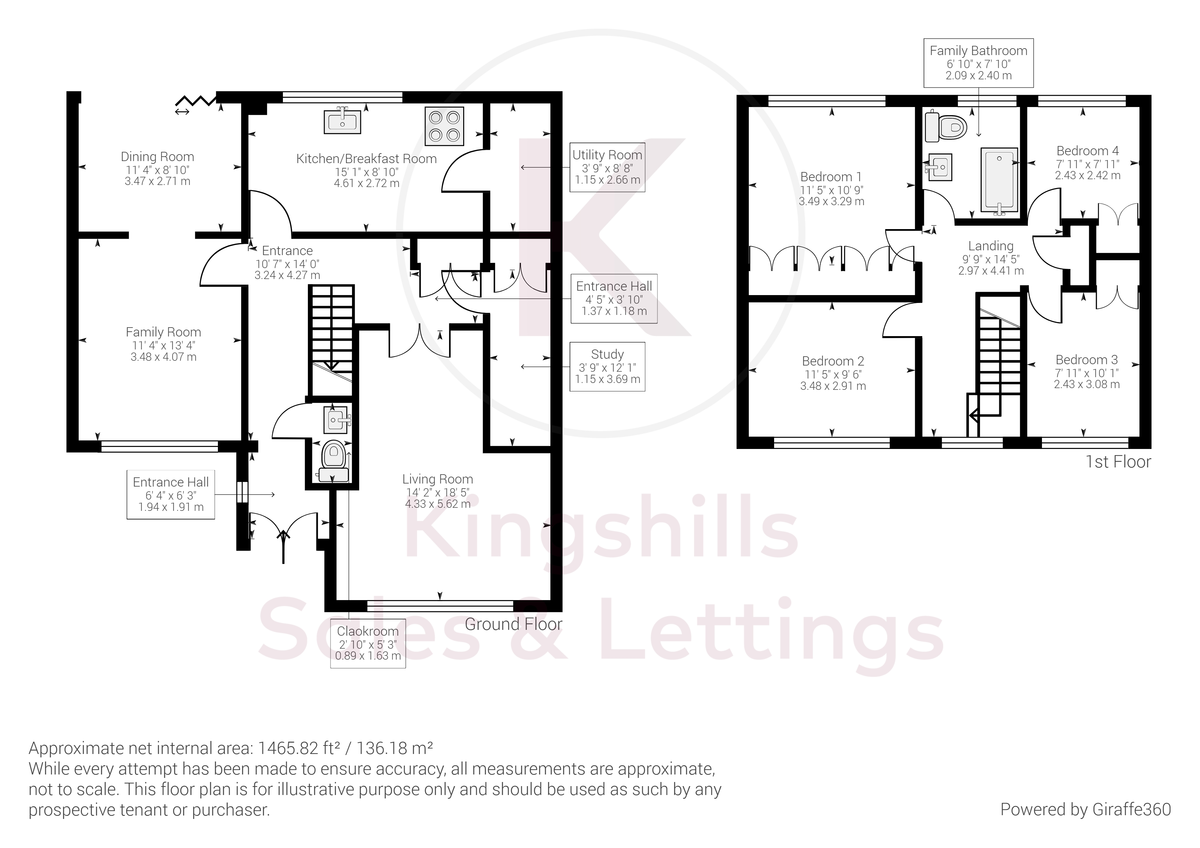 4 bed house for sale in St. Johns Avenue, Penn, High Wycombe - Property Floorplan