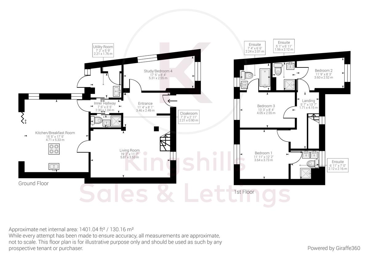4 bed house for sale in Fennels Way, Flackwell Heath - Property Floorplan