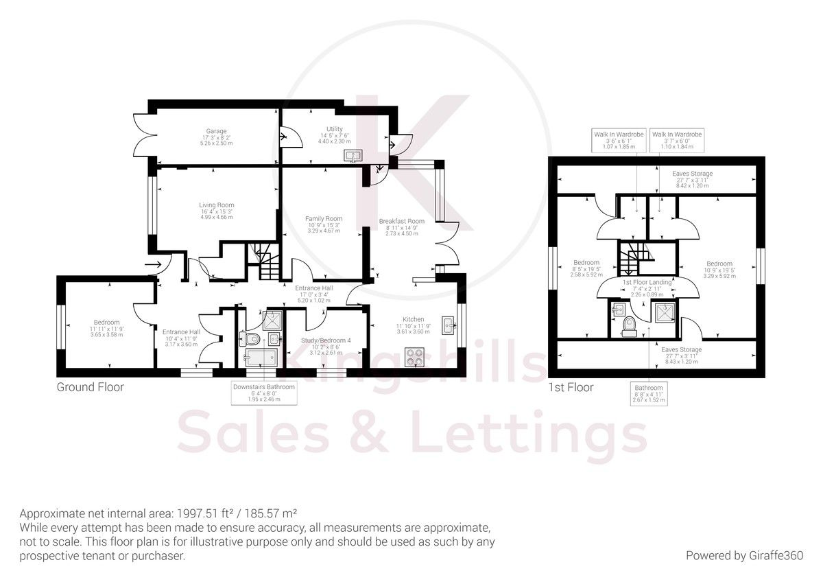 4 bed house for sale in Perks Lane, Great Missenden - Property Floorplan