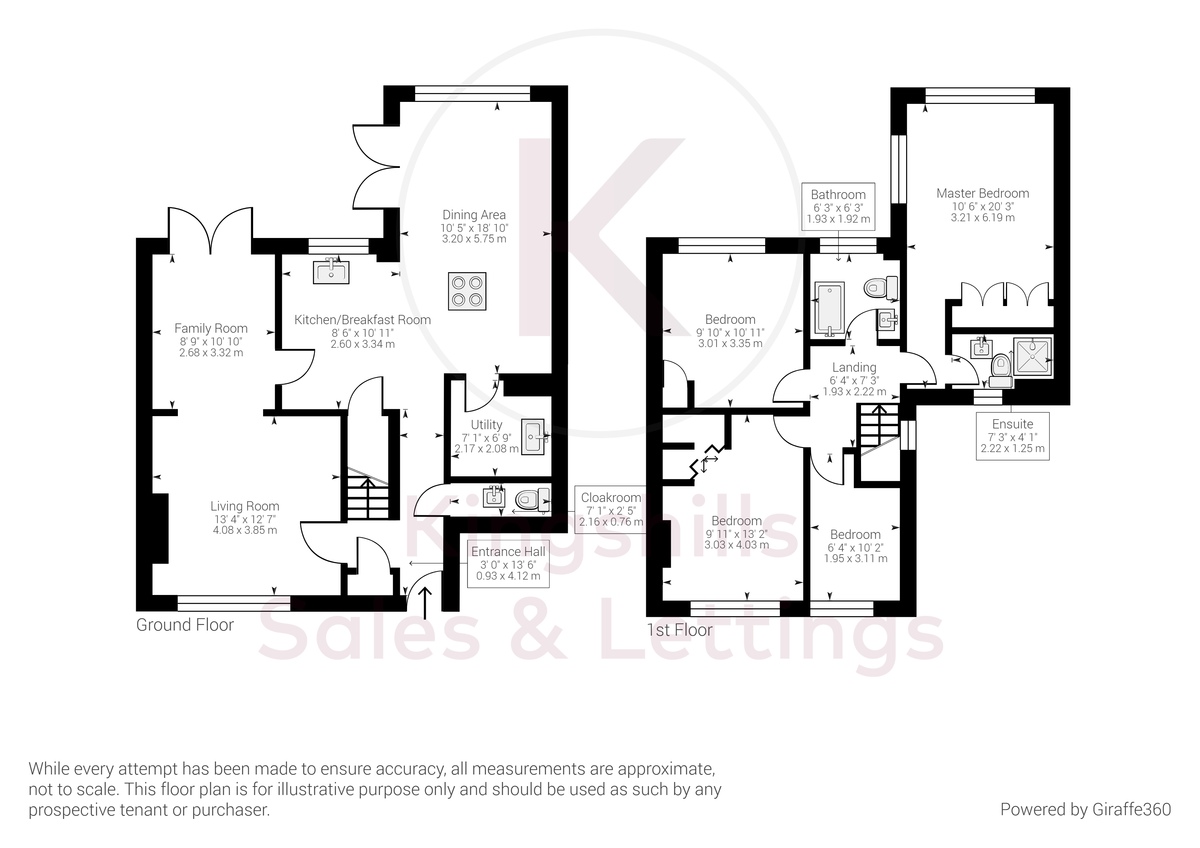 4 bed house for sale in Bay Tree Close, Loudwater - Property Floorplan