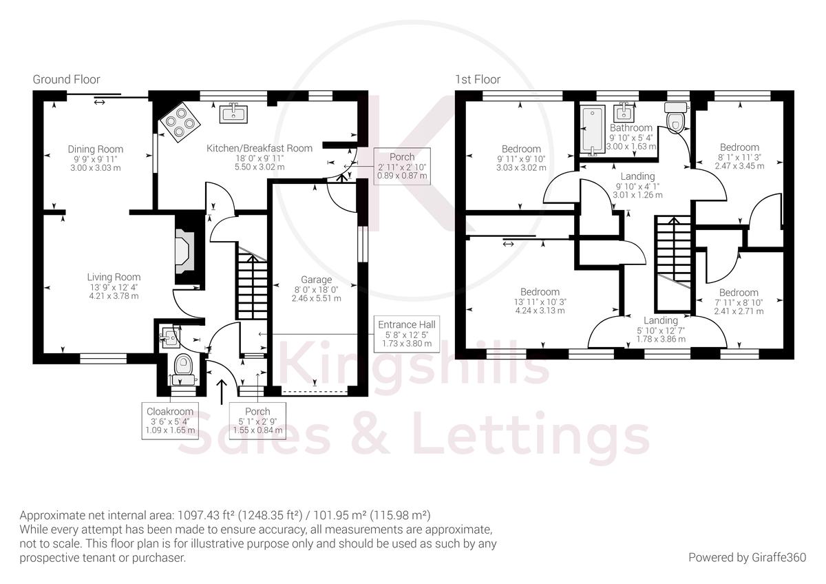 4 bed house for sale in Holmer Green Road, Hazlemere - Property Floorplan