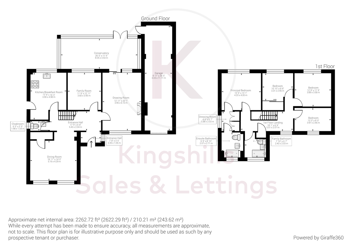 4 bed house for sale in Wyngrave Place, Beaconsfield - Property Floorplan