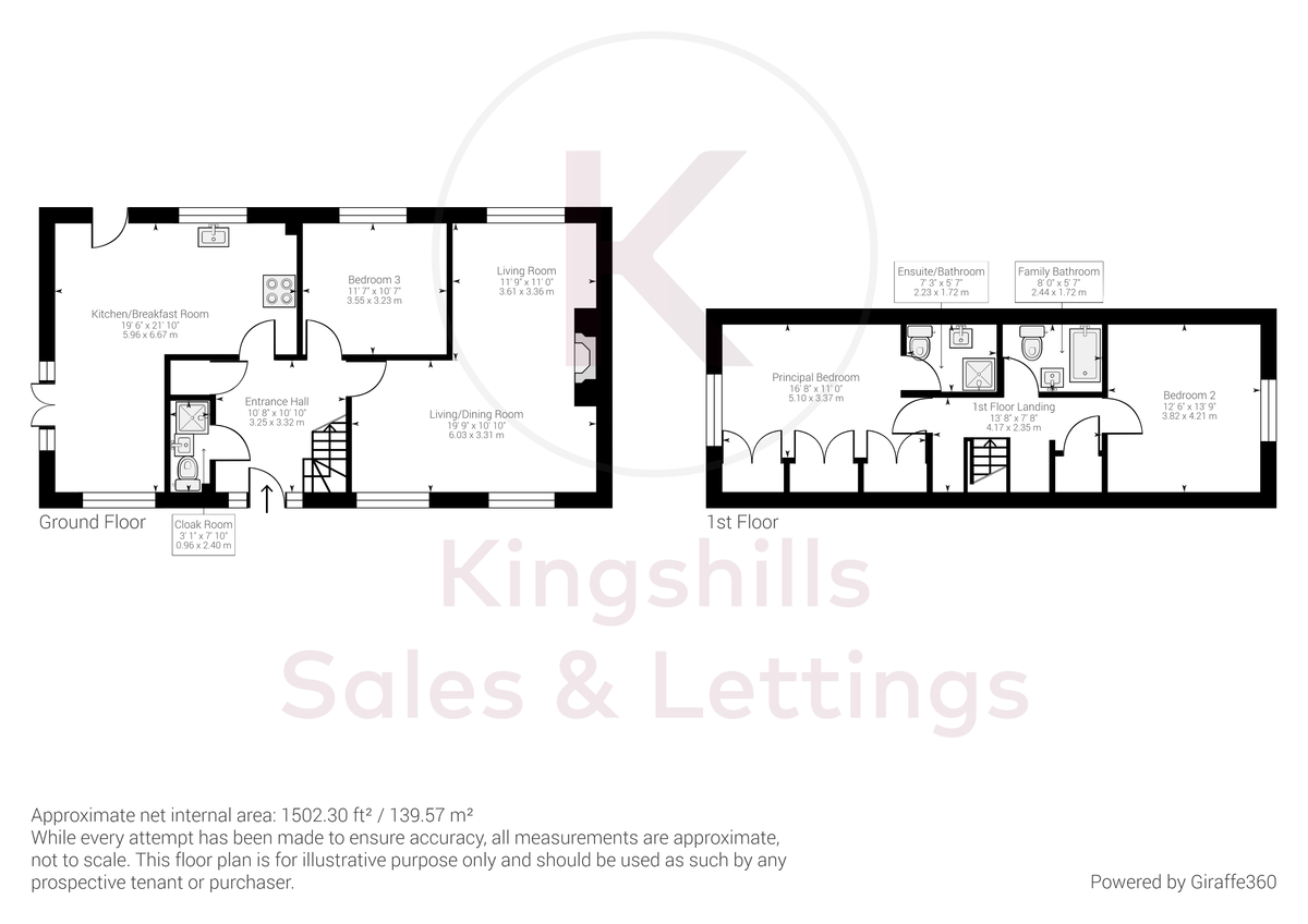 3 bed house for sale in Downley Common, Downley - Property Floorplan