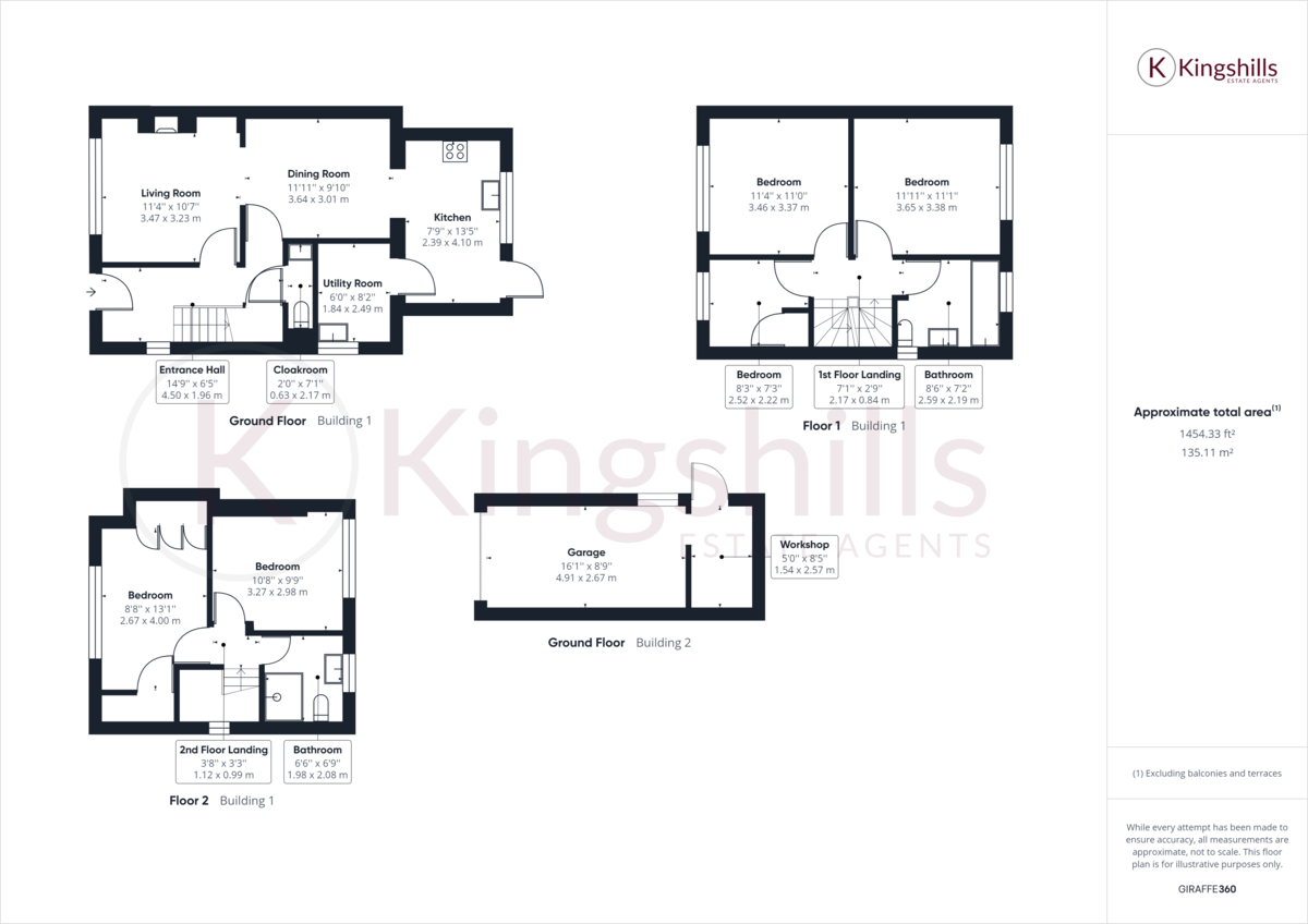 5 bed house for sale in The Warren, Hazlemere - Property Floorplan