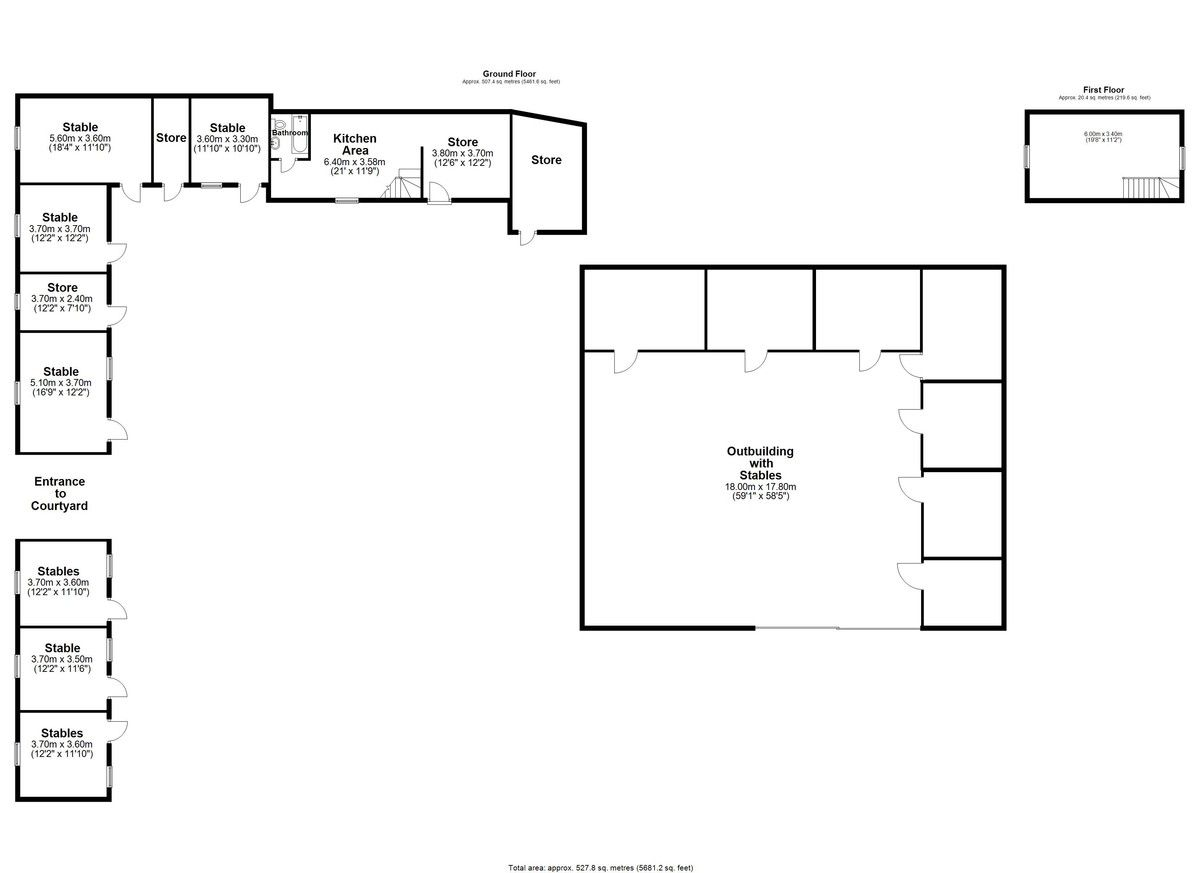 6 bed  for sale in Maesbrook, Oswestry - Property Floorplan