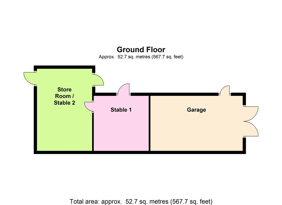 5 bed house for sale in Birch Tree Cottage, Penyfford - Property Floorplan