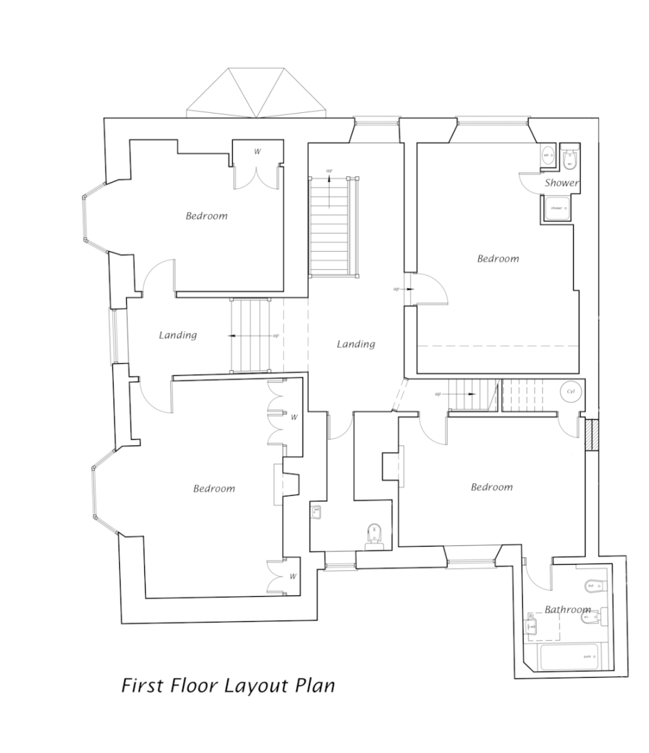 6 bed house for sale in Eyarth Hall (Lot 1), Llanfair Dyffryn Clwyd, Ruthin - Property Floorplan