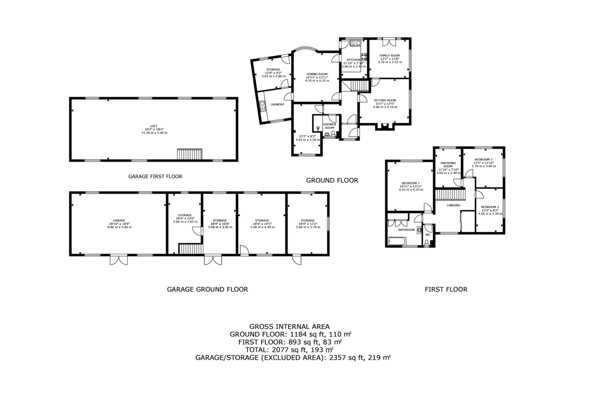 4 bed  for sale in Whitegate, Cheshire - Property Floorplan