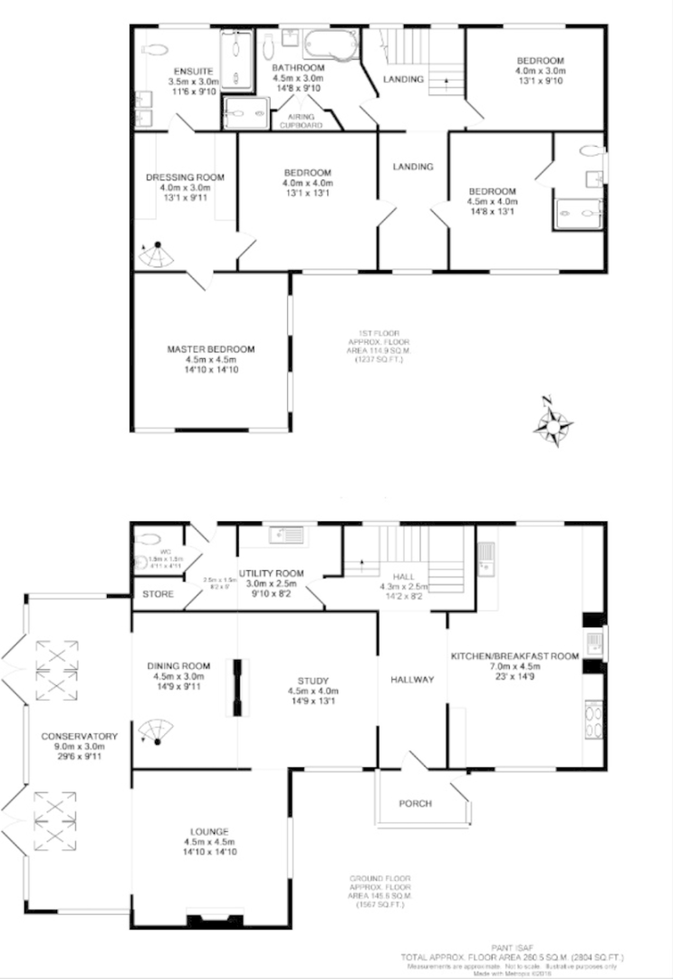 4 bed  for sale in Holywell, Flintshire - Property Floorplan