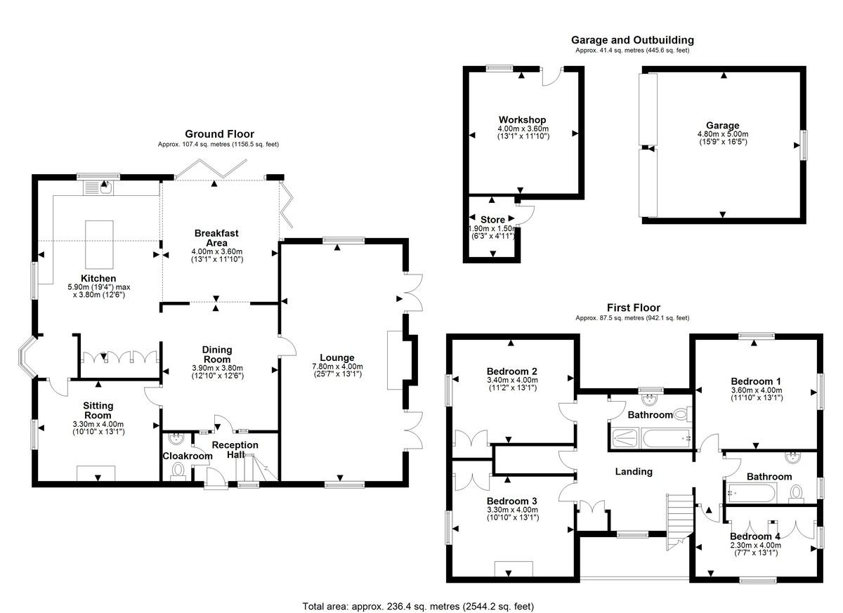 4 bed house for sale in Audlem, Cheshire - Property Floorplan