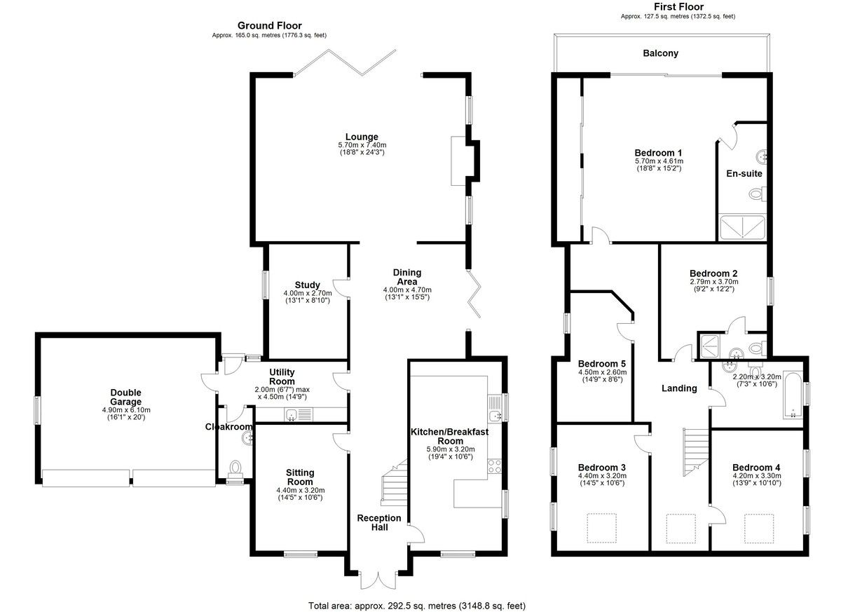 5 bed house for sale in Middlewich Road, Cheshire - Property Floorplan