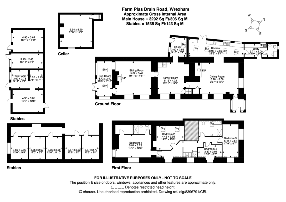 4 bed  for sale in Penycae, Wrexham - Property Floorplan