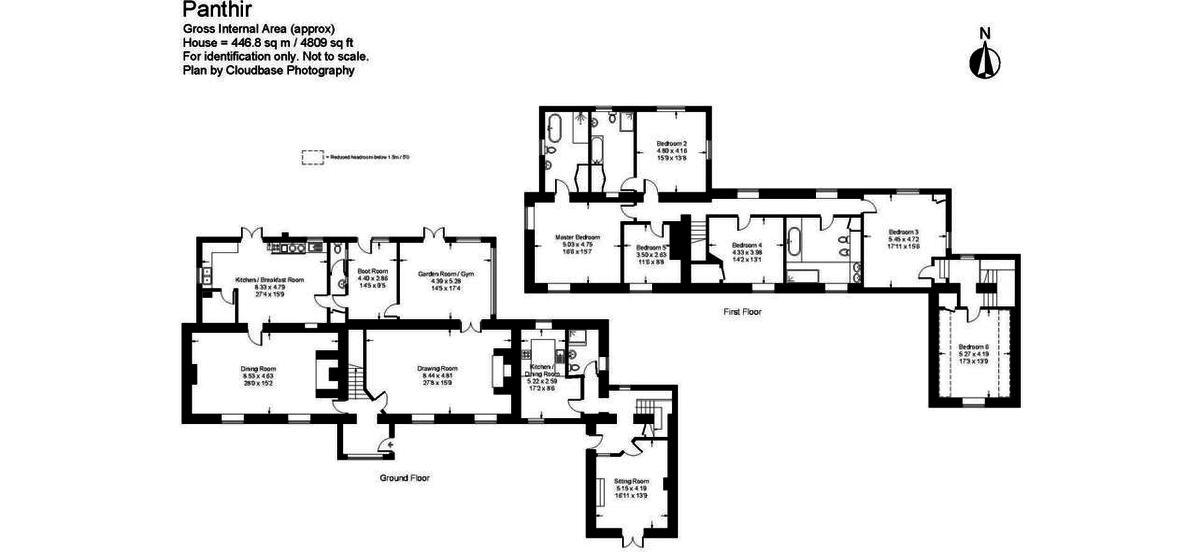 5 bed house for sale in Craigllwyn, Oswestry - Property Floorplan