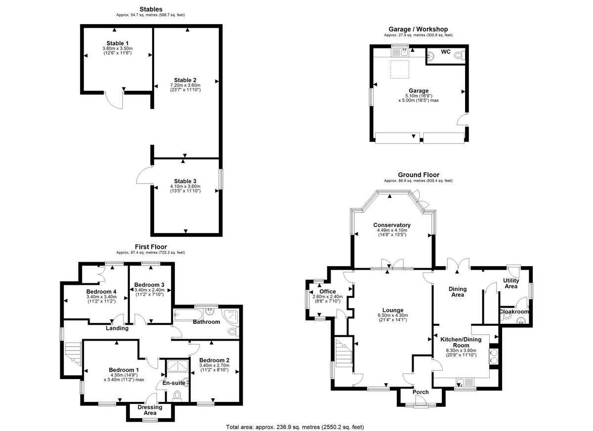 4 bed house for sale in Longhill Lane, Hankelow - Property Floorplan
