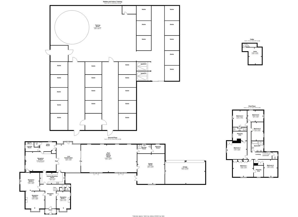 6 bed house for sale in Whitchurch, Shropshire - Property Floorplan