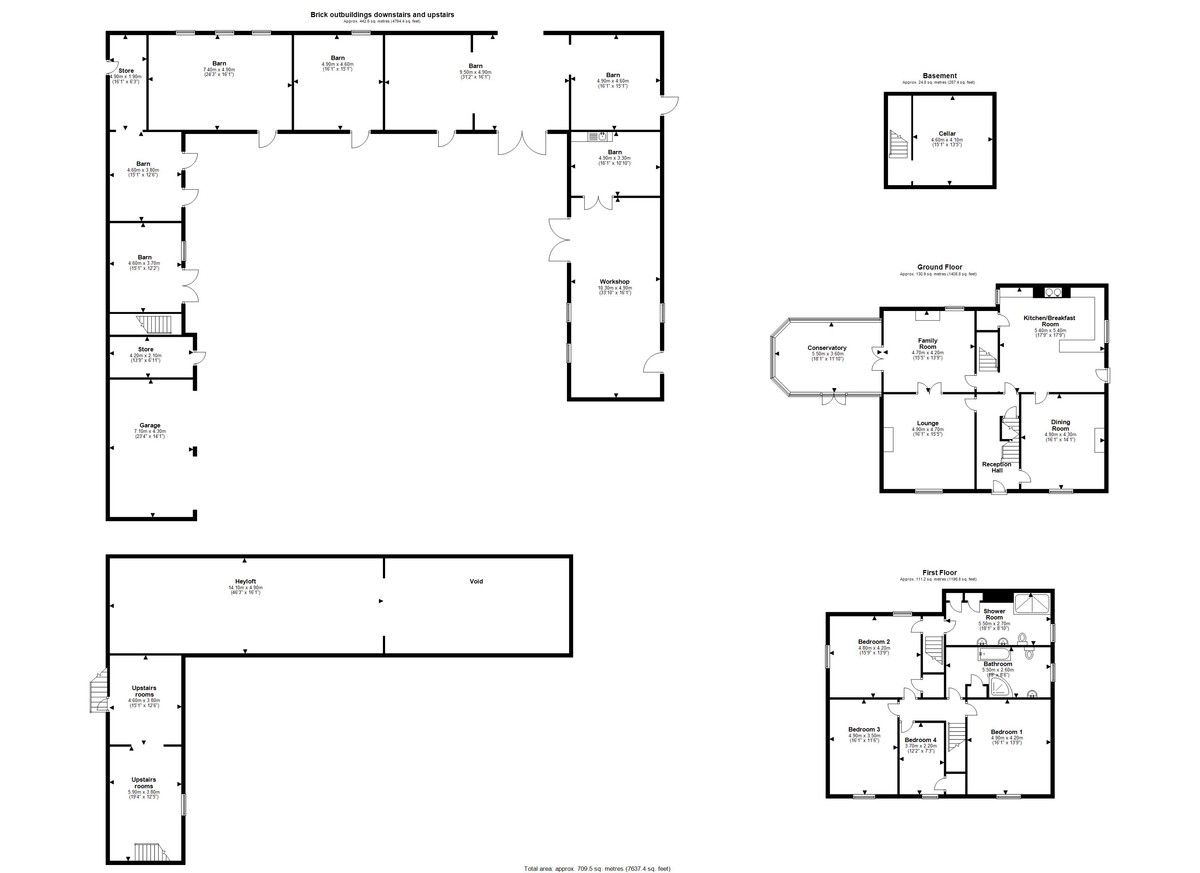 4 bed house for sale in Worthen, Shrewsbury - Property Floorplan