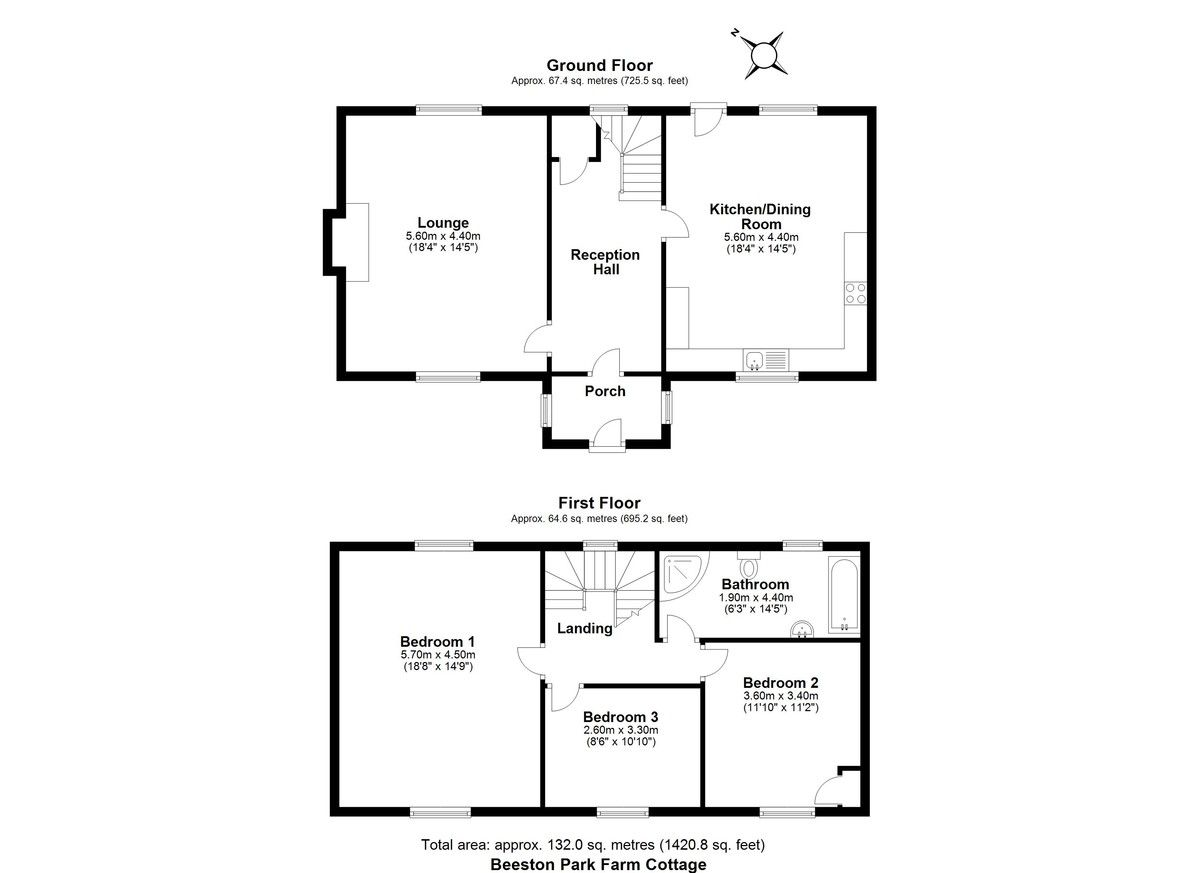 3 bed house for sale in Marple, Cheshire - Property Floorplan