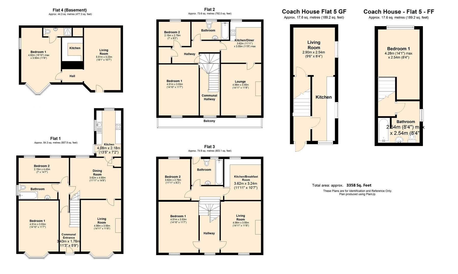 8 bed block of apartments for sale in Whitecross - Property Floorplan