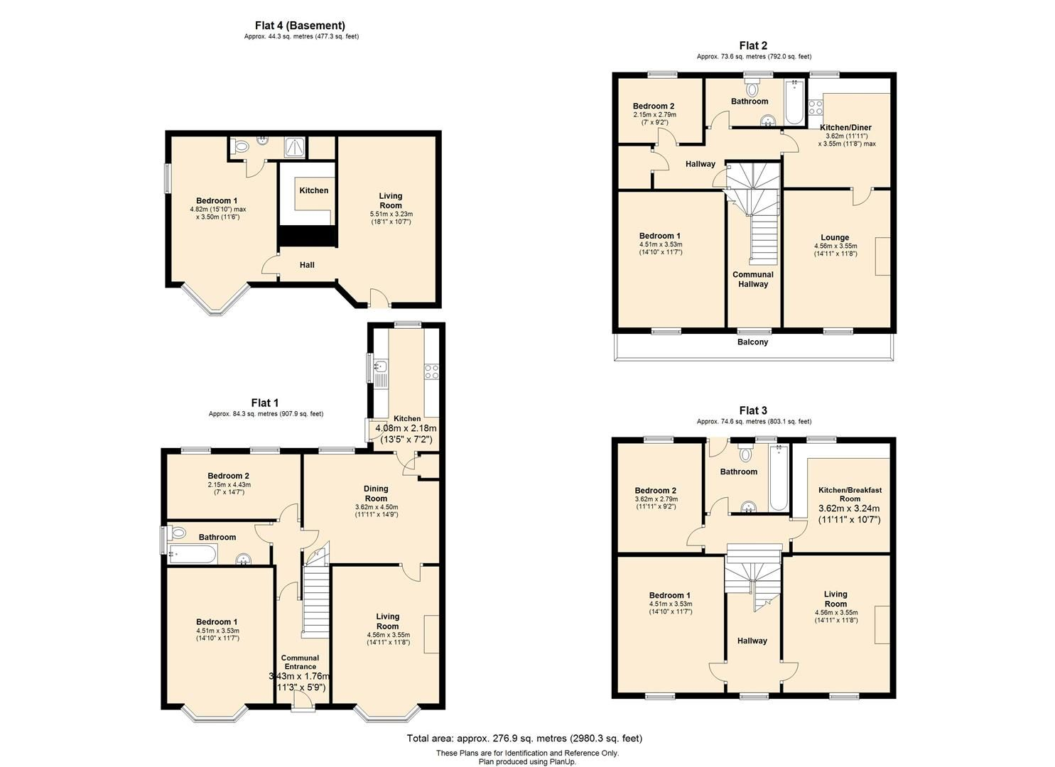 8 bed block-of-apartments for sale in Whitecross - Property Floorplan