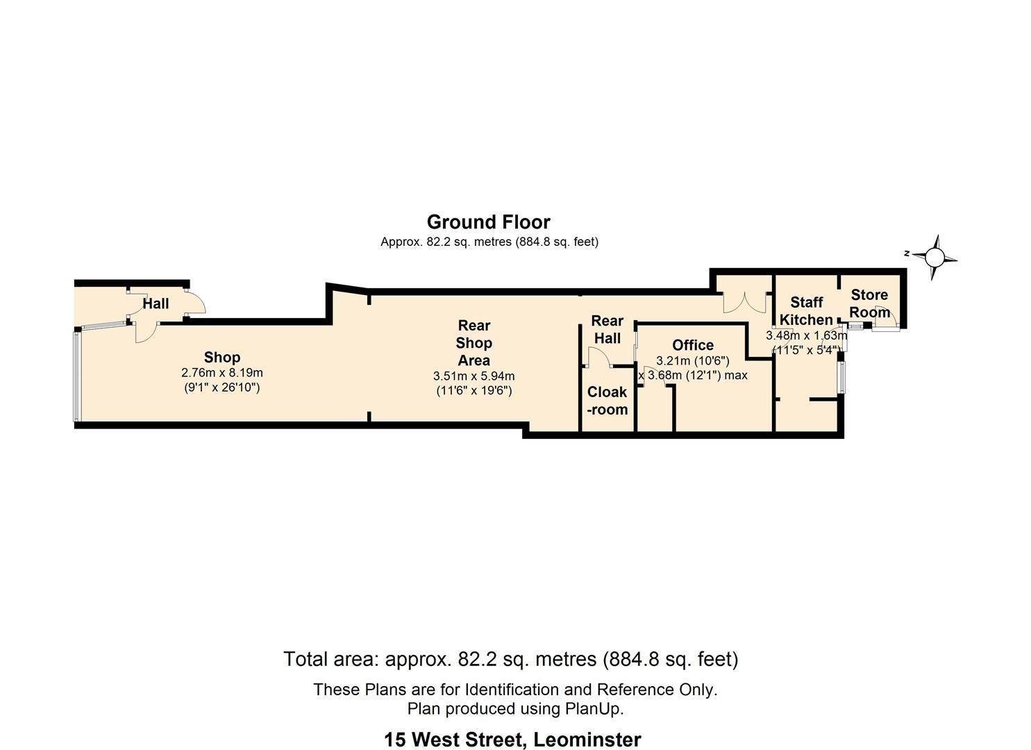 to rent in 15 West Street - Property Floorplan