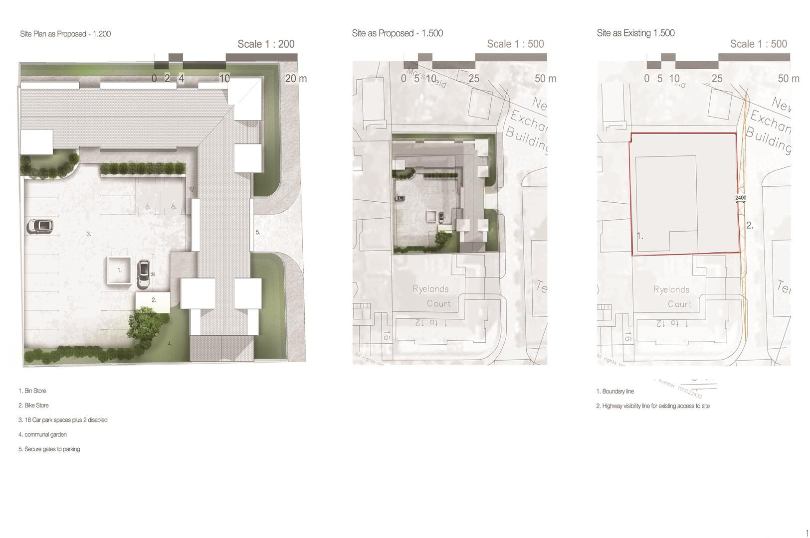 Plot for sale in Ryelands Road  - Property Image 2