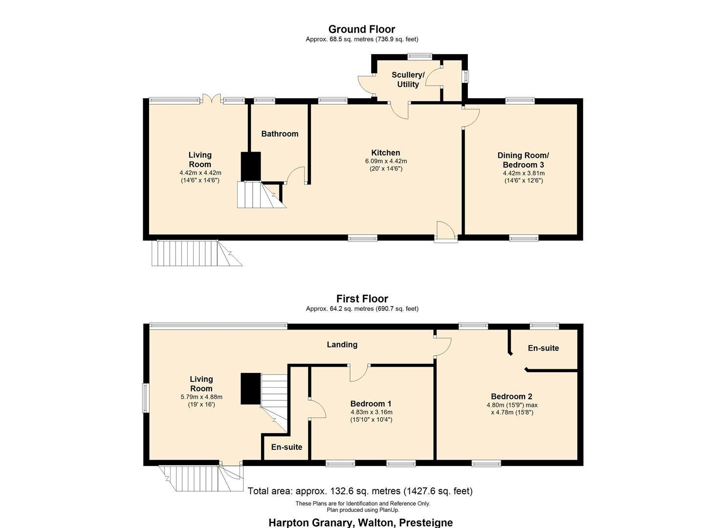 3 bed detached for sale in Presteigne - Property Floorplan