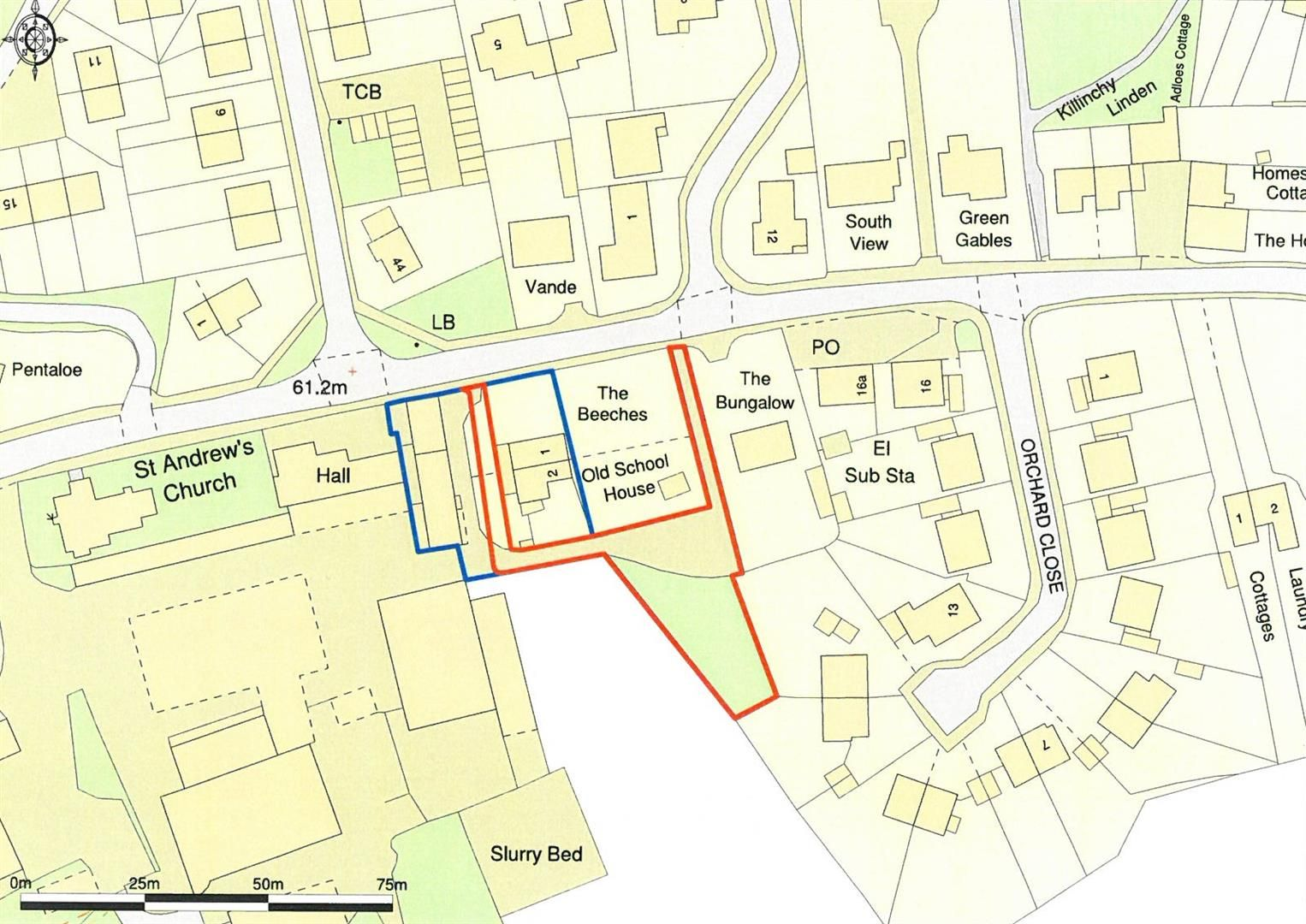 Plot for sale in Moreton-on-Lugg - Property Floorplan