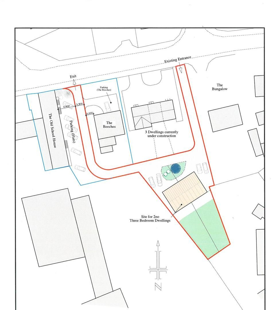 Plot for sale in Moreton-on-Lugg 2
