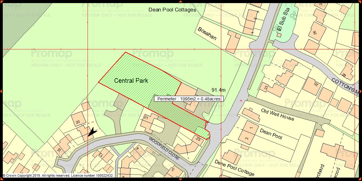 Plot for sale in Kingstone - Property Floorplan