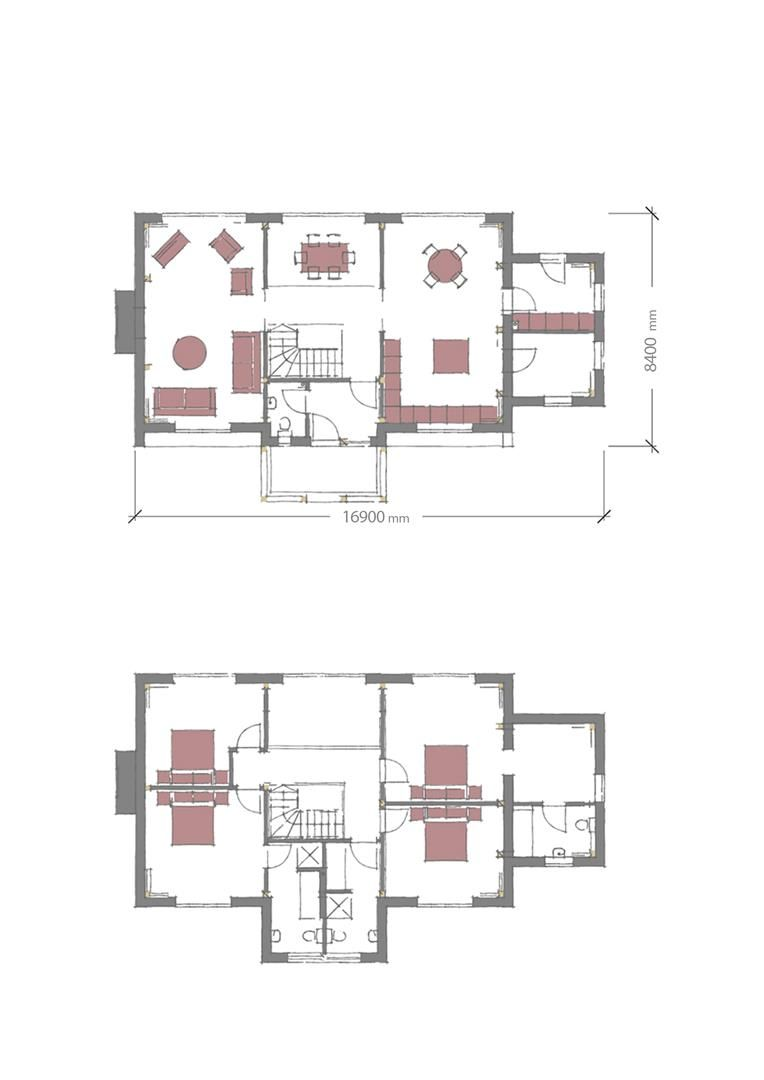 4 bed plot for sale in Lyonshall - Property Floorplan