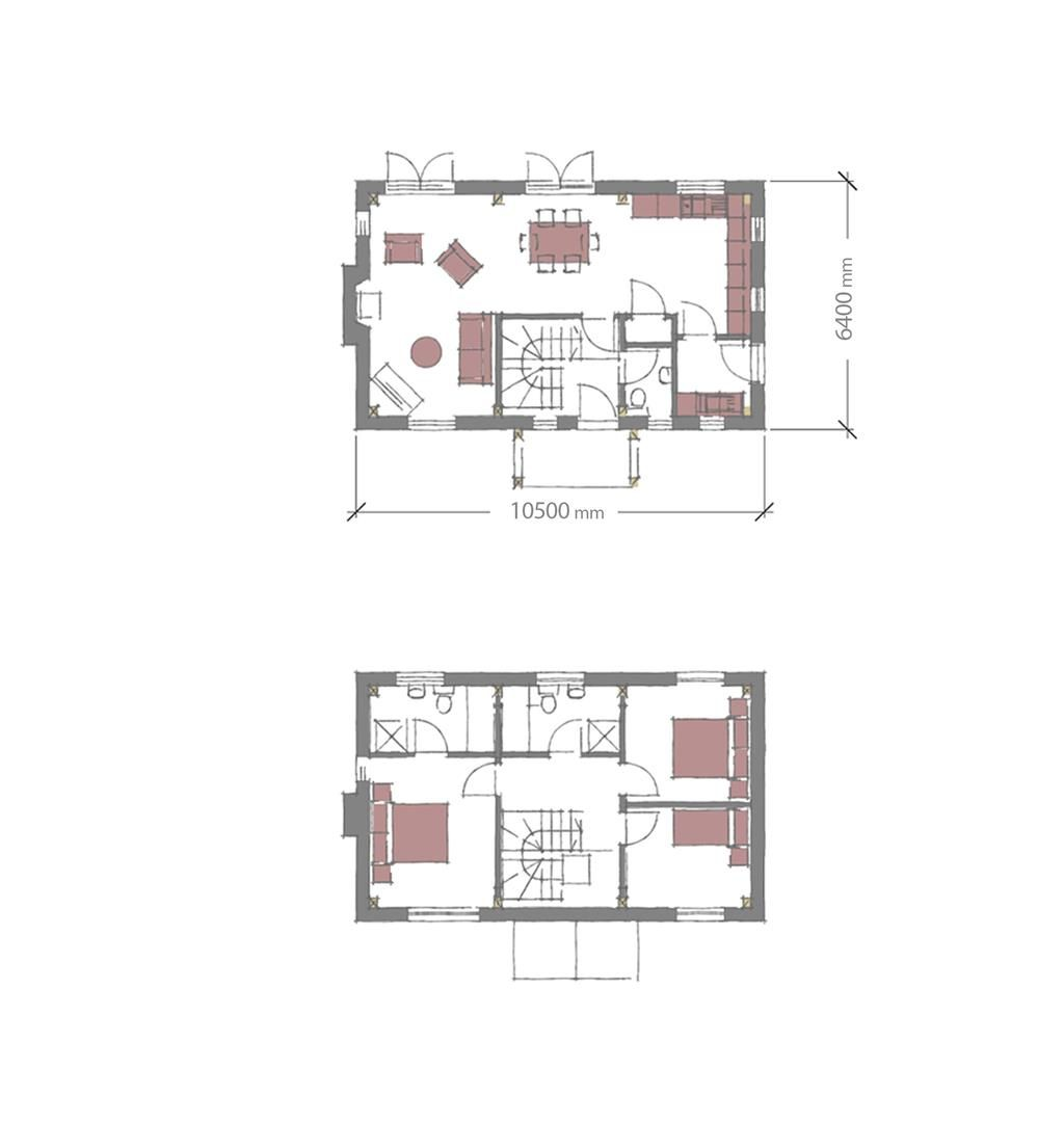 3 bed plot for sale in Lyonshall - Property Floorplan