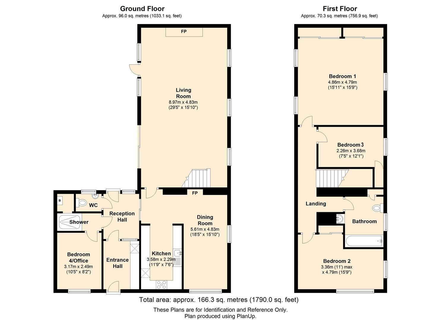 3 bed detached for sale in Bodenham - Property Floorplan