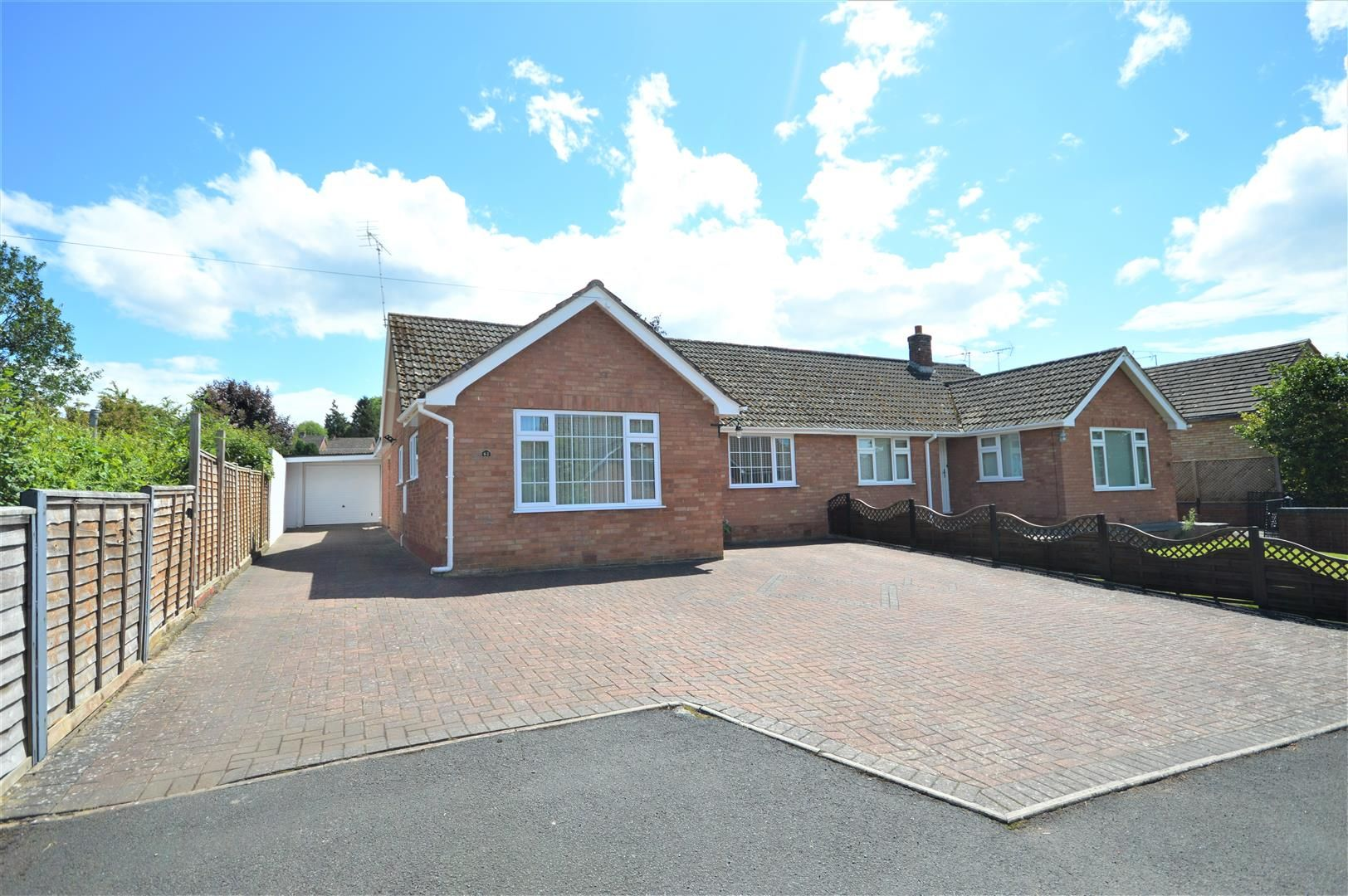 2 bed semi-detached-bungalow for sale in Leominster, HR6