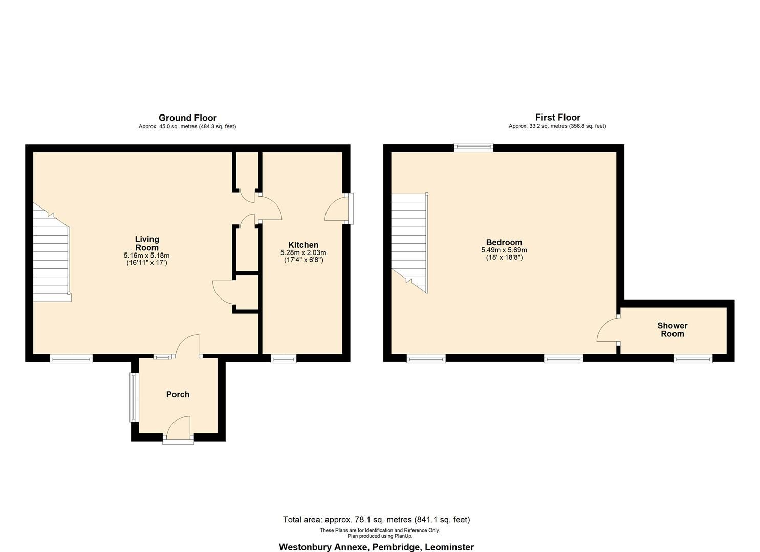 6 bed country house for sale in Pembridge - Property Floorplan