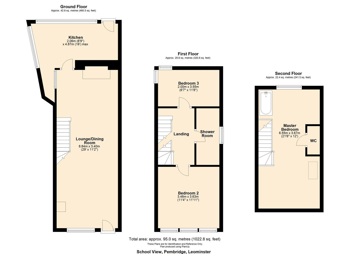 3 bed cottage for sale in Pembridge - Property Floorplan