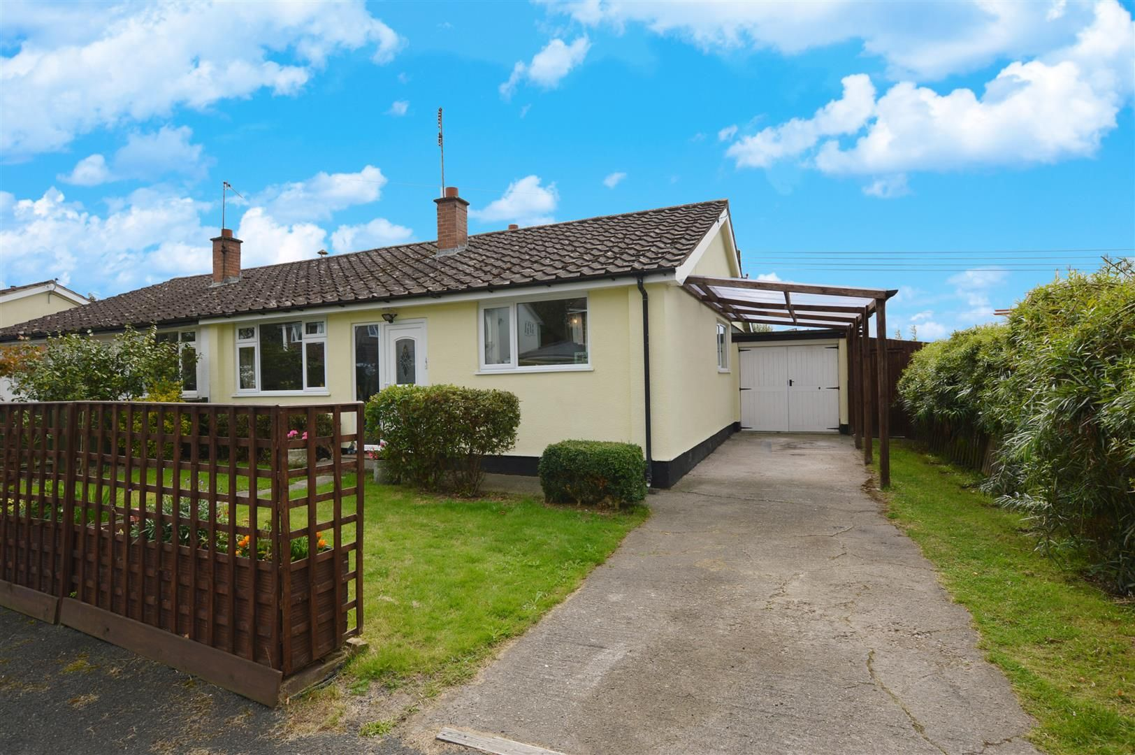 3 bed semi-detached-bungalow for sale in Shobdon  - Property Image 1