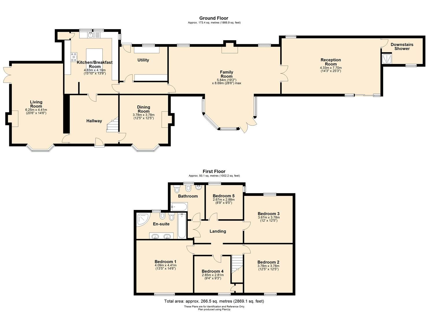5 bed detached for sale in Stretton Sugwas - Property Floorplan