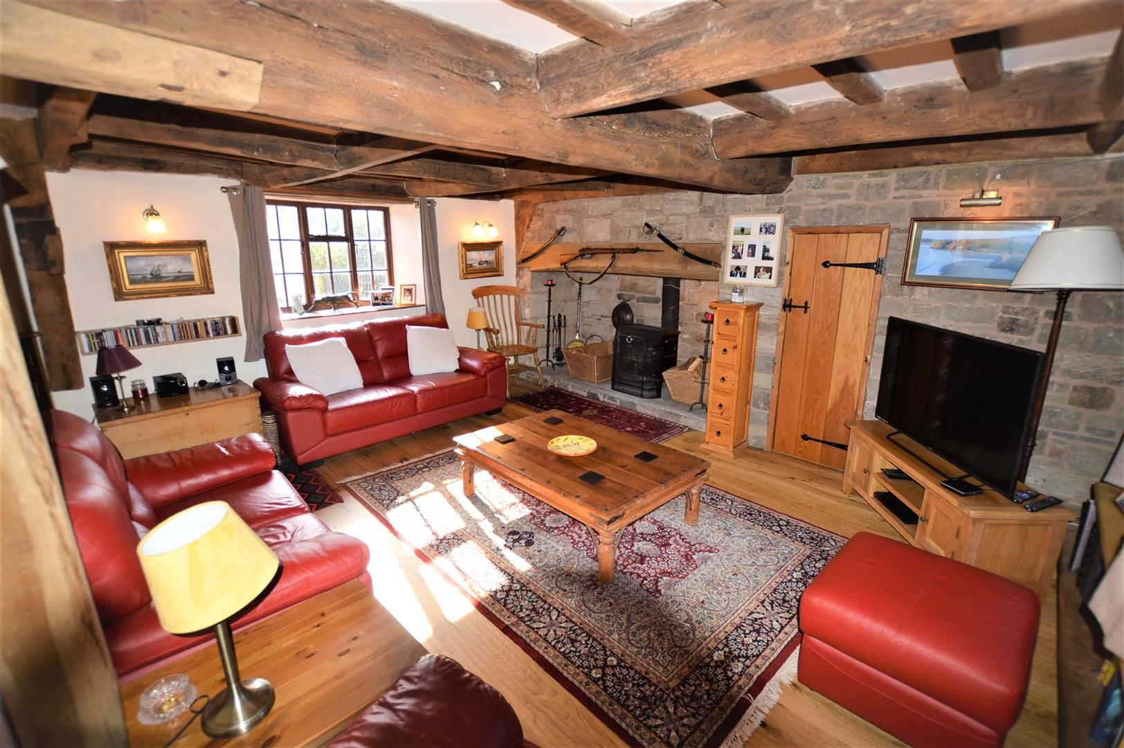 3 bed cottage for sale in Sutton St. Nicholas 2